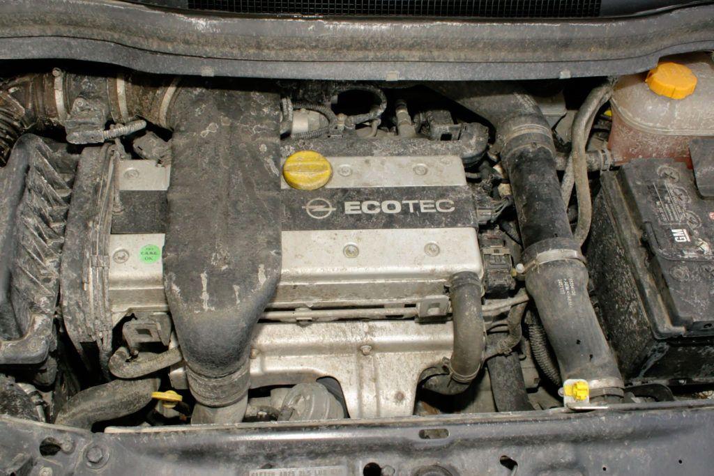 Opel Zafira - silnik