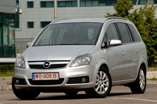 Używany Opel Zafira - sylwetka