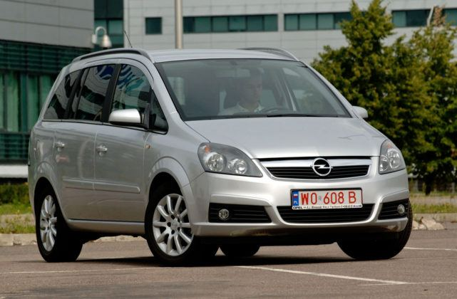 Opel Zafira - sylwetka
