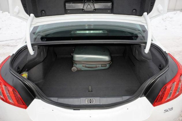 Używany Peugeot 508 - bagażnik