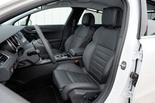 Używany Peugeot 508 - fotel kierowcy
