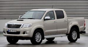 Pickupy, najlepszy - Toyota Hilux