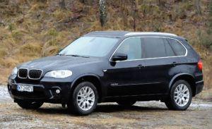 SUV-y, najdroższy - BMW X5 E70