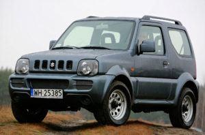 SUVy, najlepszy - Suzuki Jimny