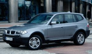 SUV-y, najtańszy - BMW X3 E83