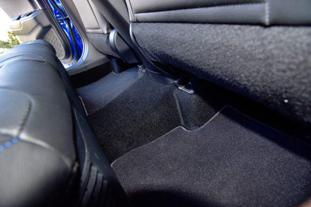 Toyota C-HR - podłoga tył