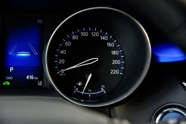Toyota C-HR - prędkościomierz