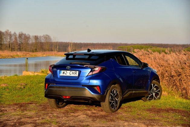 Toyota C-HR - tył