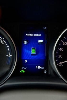 Toyota C-HR - wyświetlacz środkowy, napęd hybrydowy