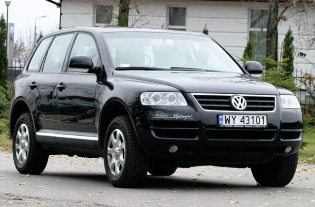 Volkswagen Touareg - przód