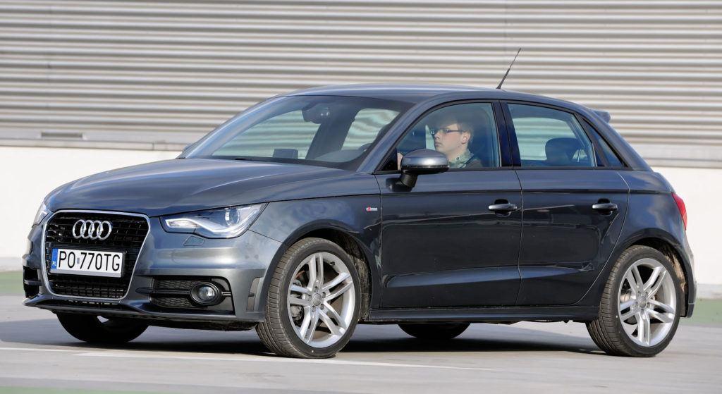 Auta miejskie - Audi A1