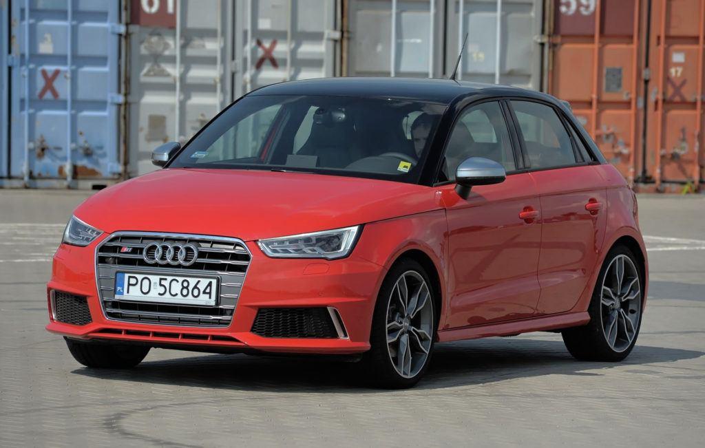 Auta miejskie - Audi S1