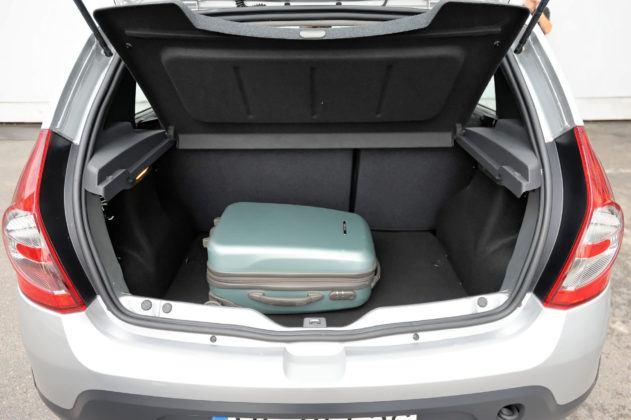 Dacia Sandero - bagażnik