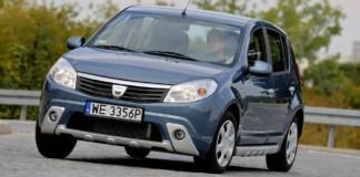 Dacia Sandero - otwierające