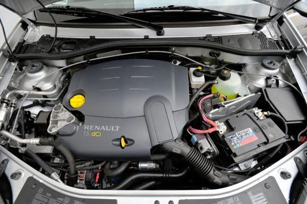 Dacia Sandero - silnik