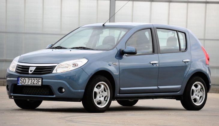 Dacia Sandero - bok