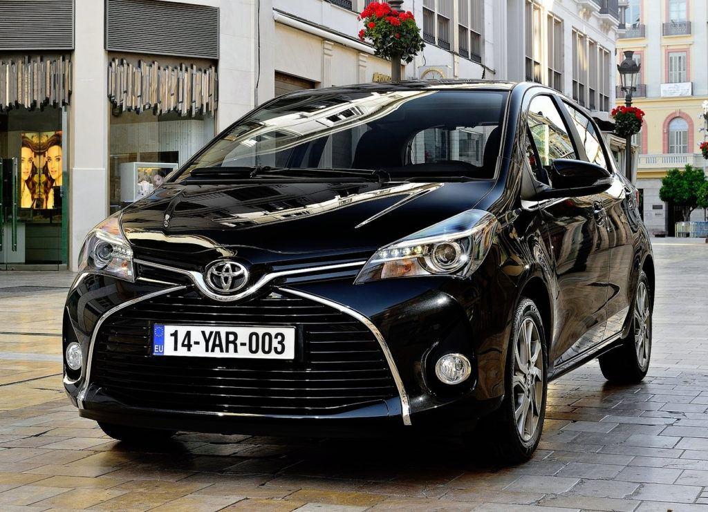 Grecja - Toyota Yaris