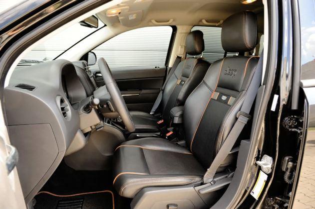 Jeep Compass - fotel kierowcy