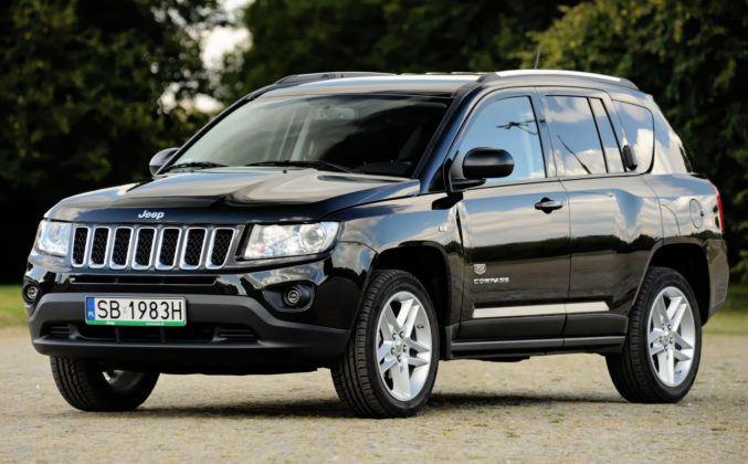 Jeep Compass - przód
