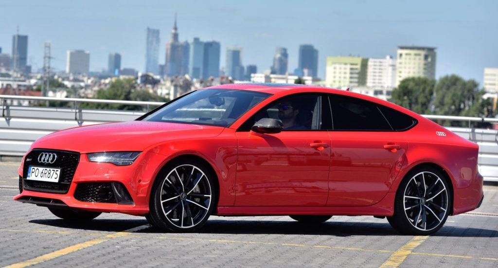 Klasa wyższa - Audi RS 7