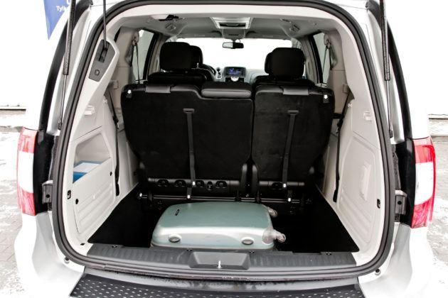 Lancia Voyager - bagażnik