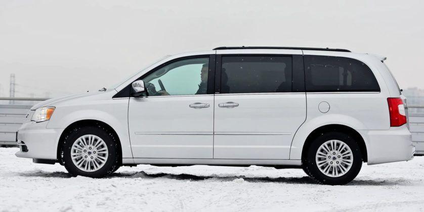 Lancia Voyager - bok