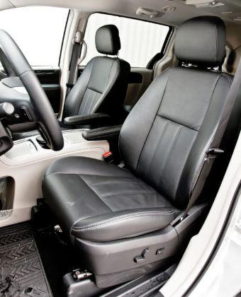 Lancia Voyager - fotel kierowcy