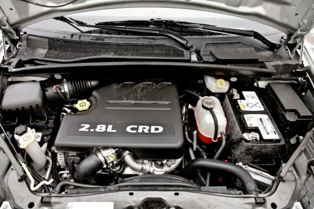 Lancia Voyager - silnik