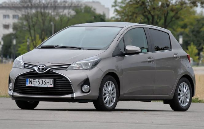 Miejskie - najgorszy - Toyota Yaris