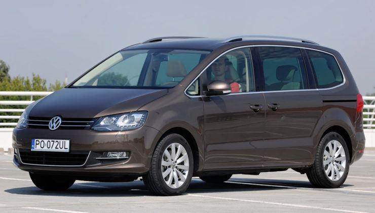 Minivany - najgorszy - Volkswagen Sharan