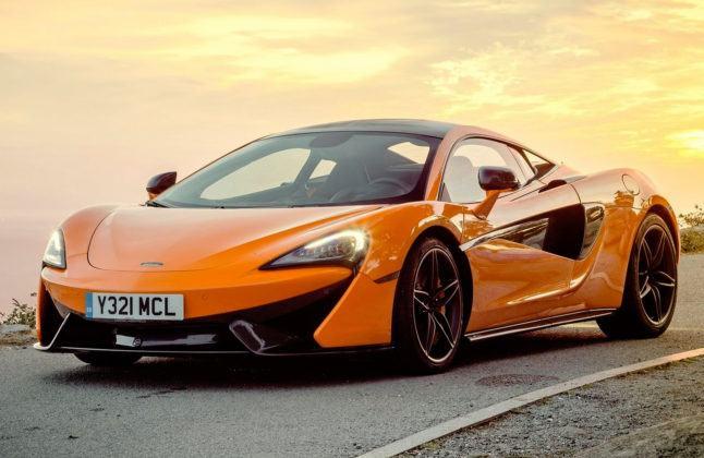 Sportowe - najgorszy - McLaren 570S