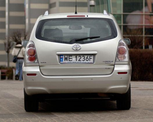 Toyota Corolla Verso - tył
