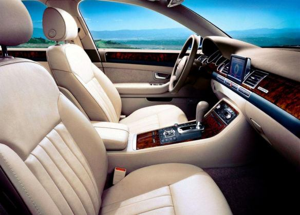 Audi A8 D3 - fotel kierowcy