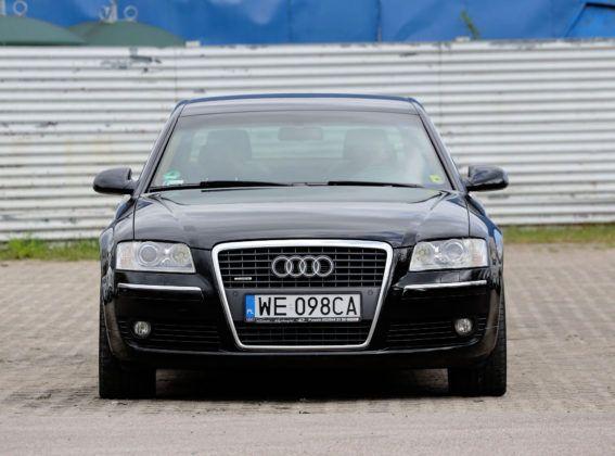 Audi A8 D3 - przód