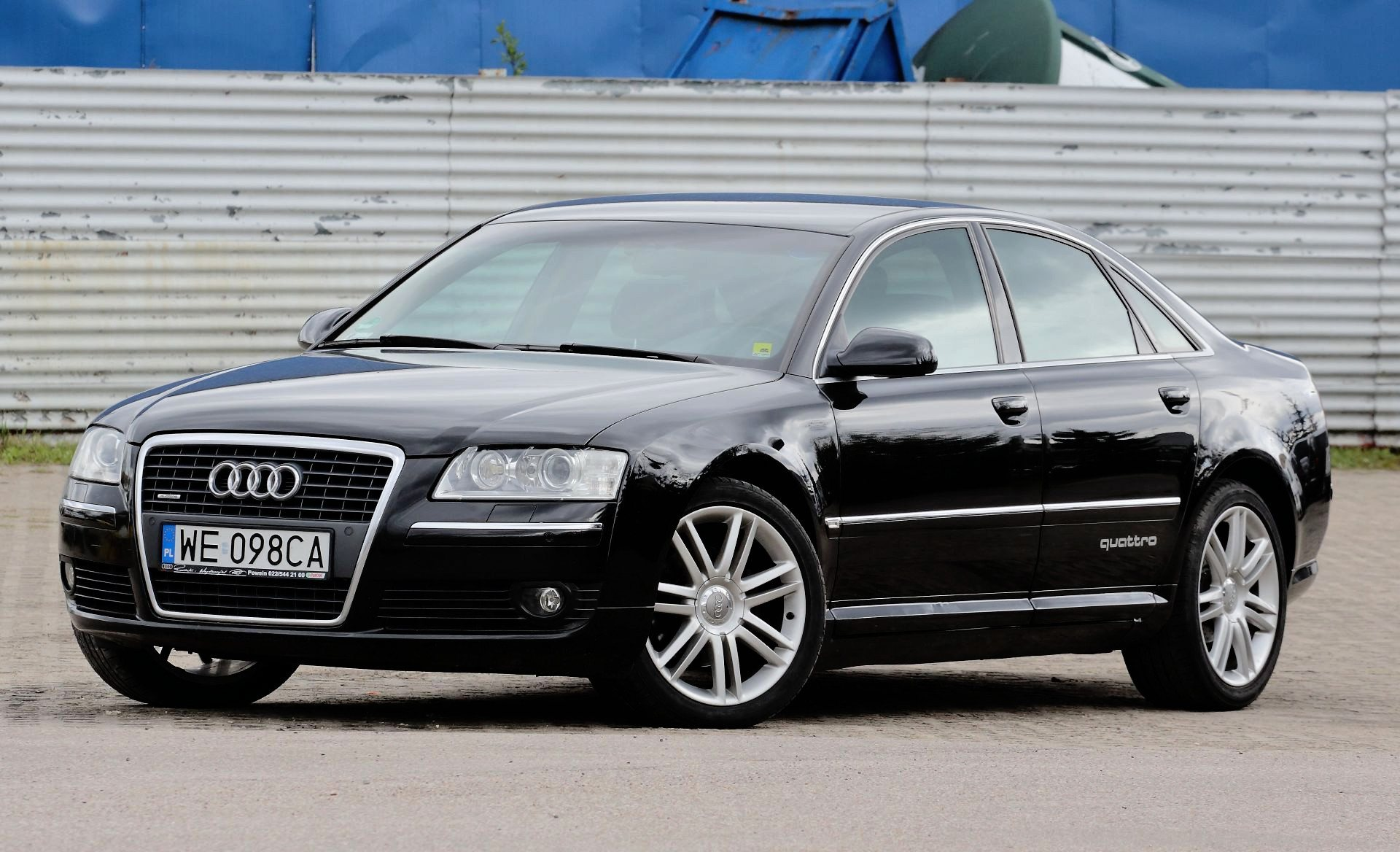 Audi A8 D3 2002 2009 Opinie