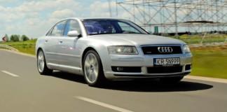 Audi A8 - otwierające