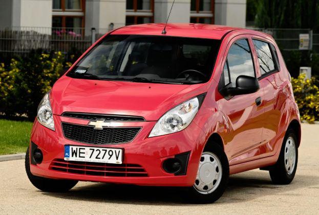Auta małe - najgorszy - Chevrolet Spark 1.0