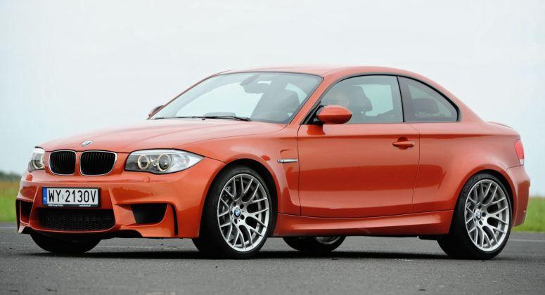 Auta sportowe - najlepszy - BMW 1M Coupe
