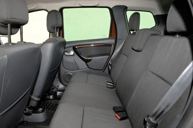 Dacia Duster - tylna kanapa