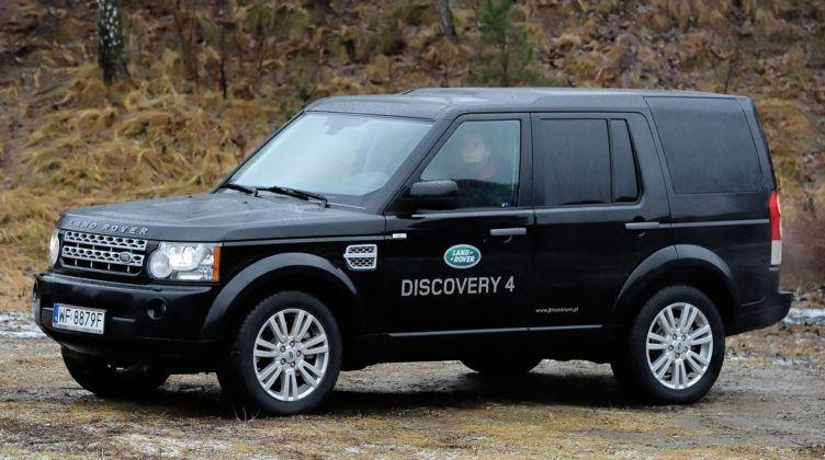 Duże SUV-y - najlepszy - Land Rover Discovery
