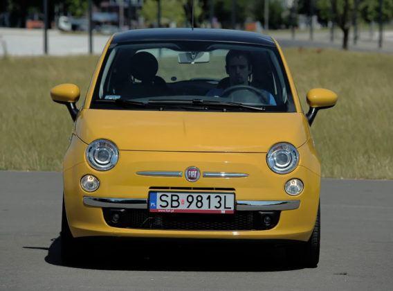 Fiat 500 - przód