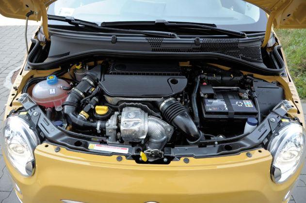 Fiat 500 - silnik