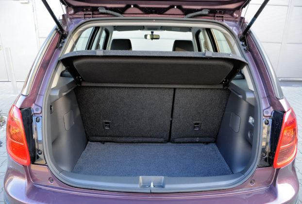 Fiat Sedici - bagażnik