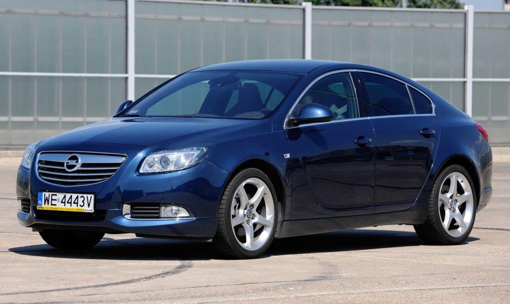 Klasa średnia - trwałe - Opel Insignia