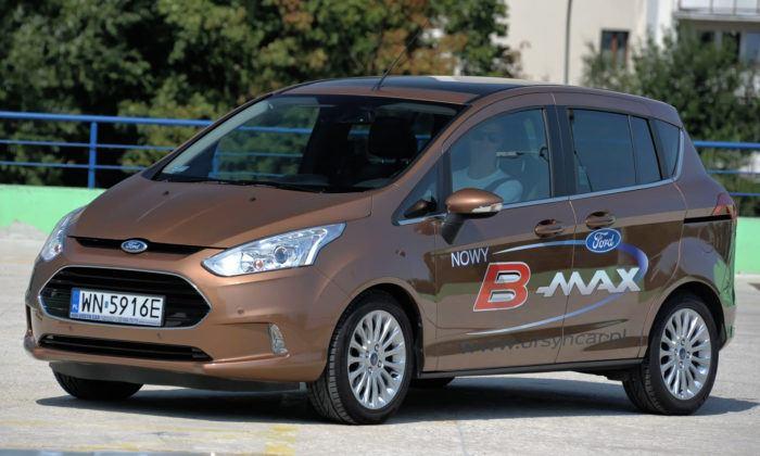 Minivany najgorszy - Ford B-Max 1.4