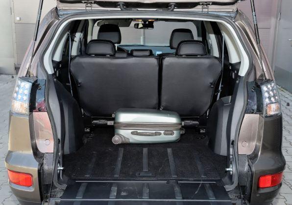 Mitsubishi Outlander - bagażnik