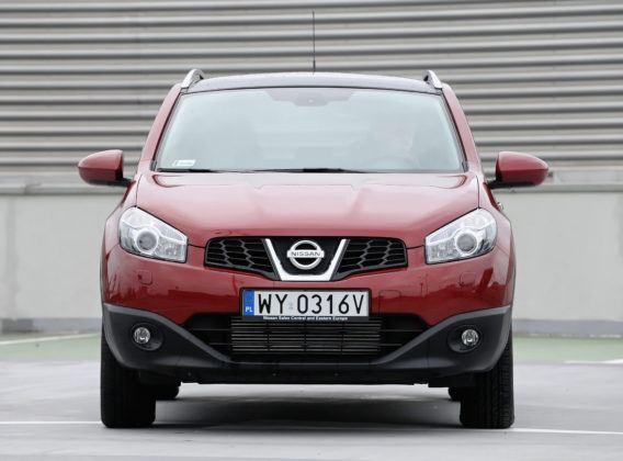 Nissan Qashqai - przód