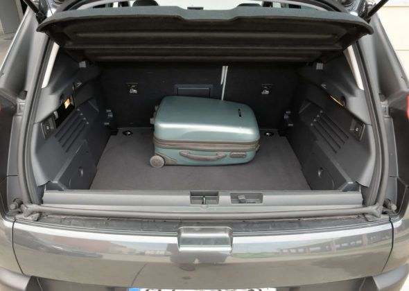 Peugeot 3008 - bagażnik