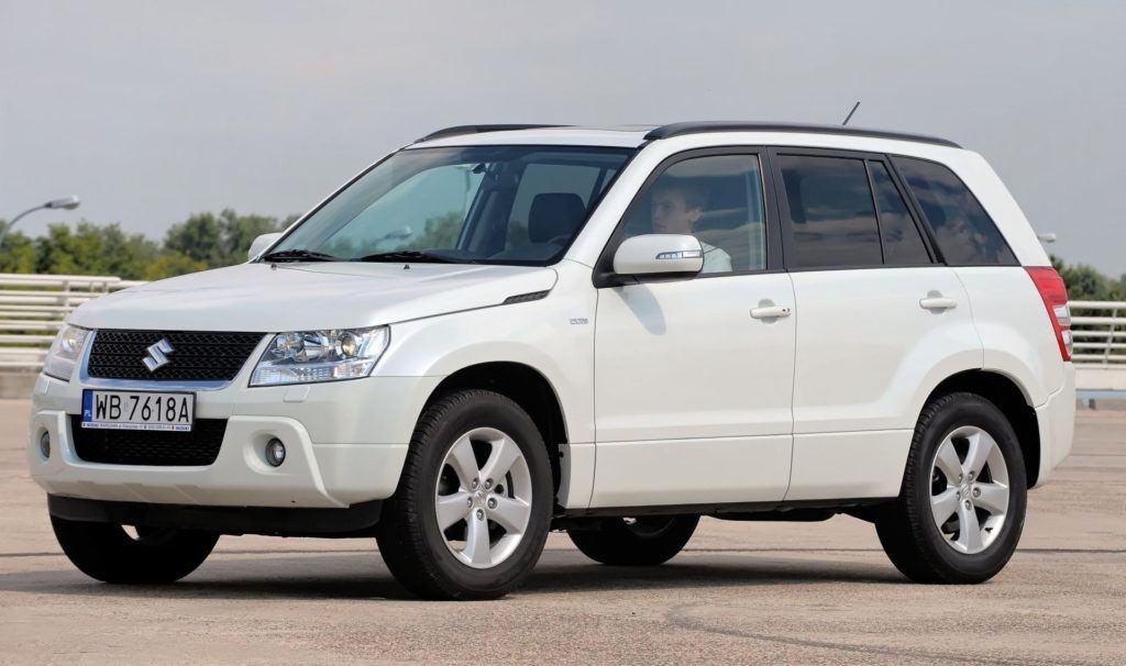 SUVy - trwałe - Suzuki Grand Vitara II