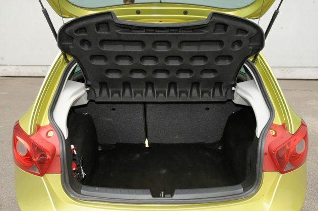 Seat Ibiza IV - bagażnik
